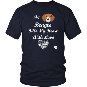 Beagle Fills My Heart T-Shirt