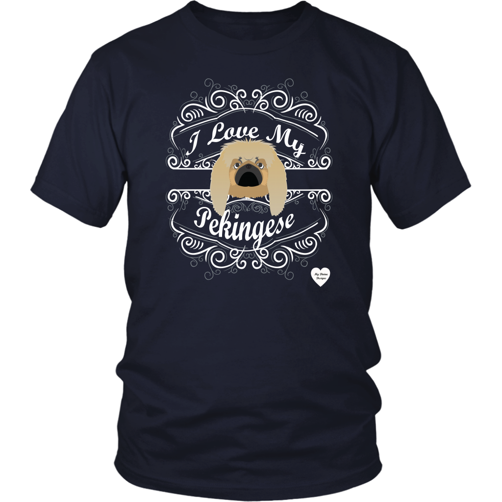 I Love My Pekingese T-Shirt