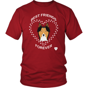 Collie Best Friends Forever T-Shirt