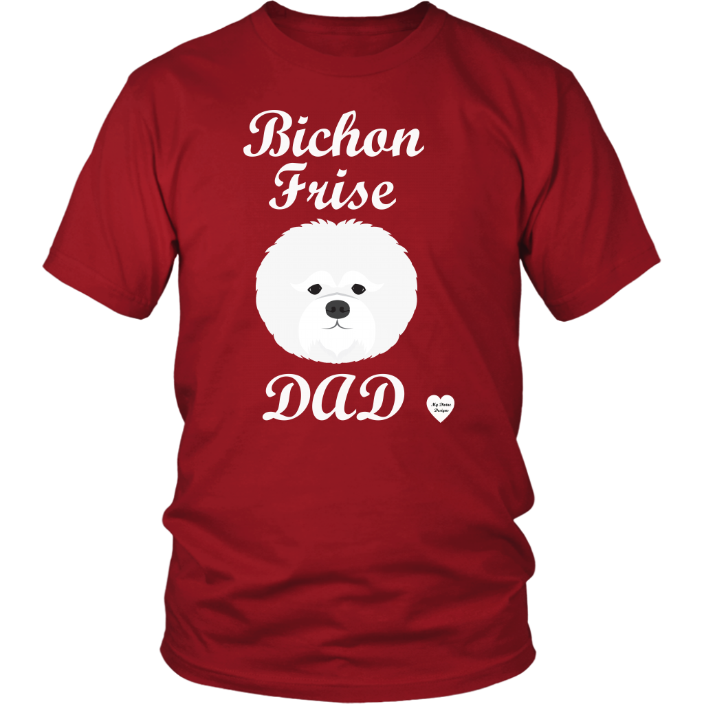 Bichon Frise Dad T Shirt