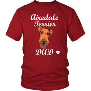 Airedale Terrier Dad T-Shirt