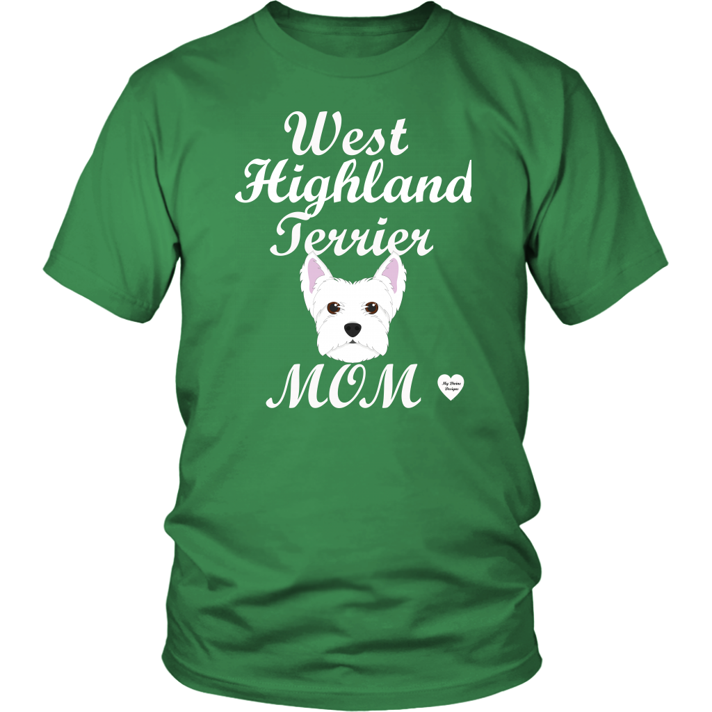 west highland terrier t-shirt kelly green