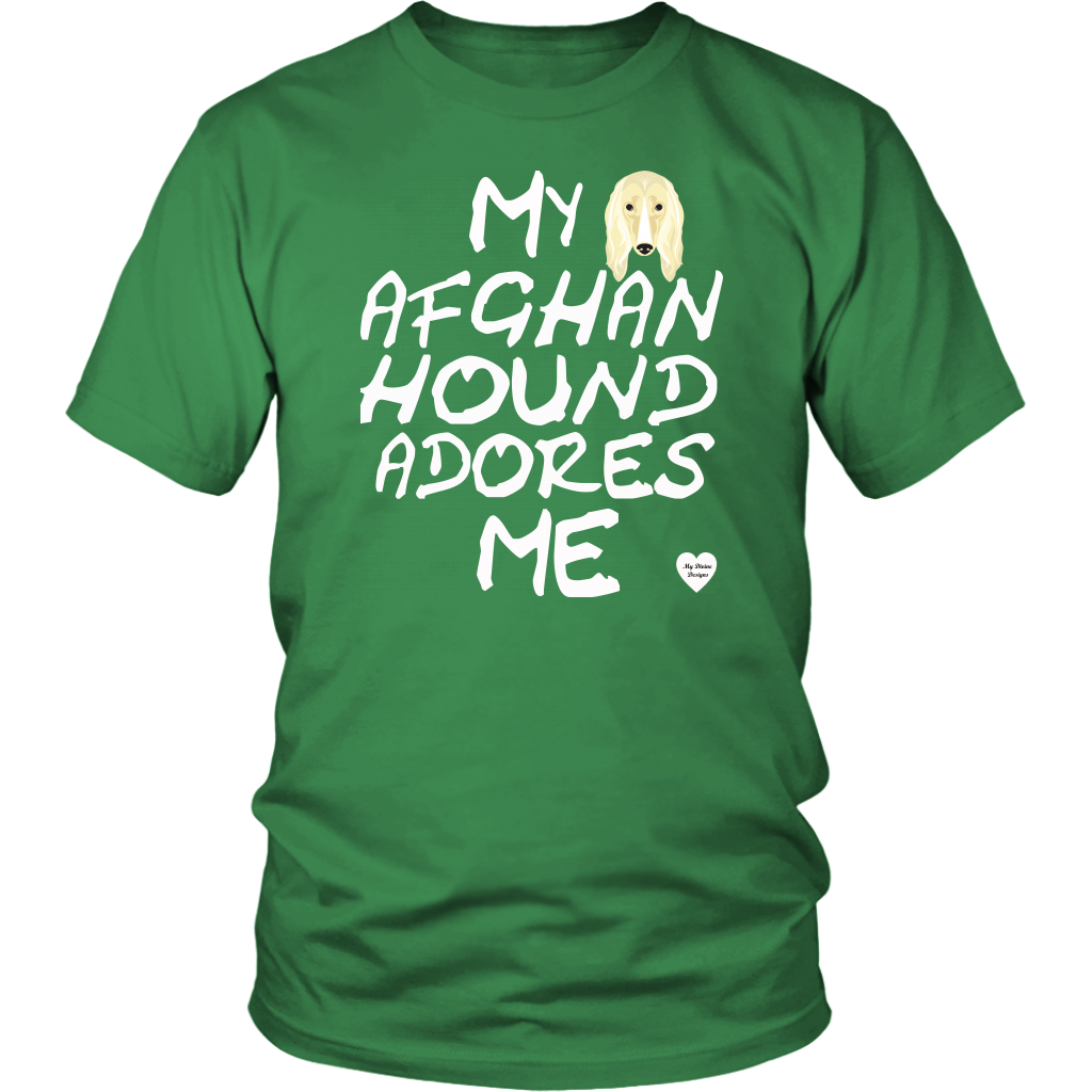 My Afghan Hound Adores Me T-Shirt