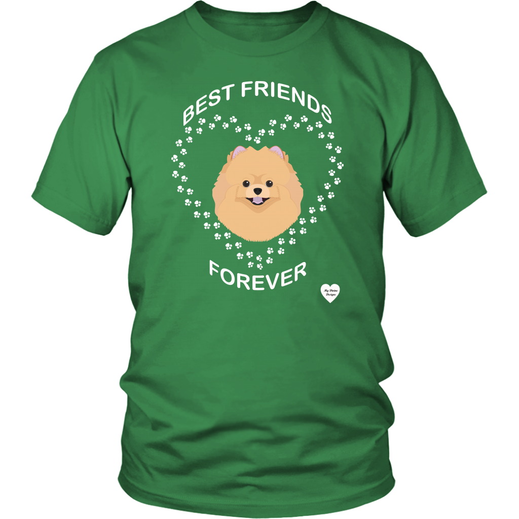 Pomeranian Best Friends Forever T-Shirt