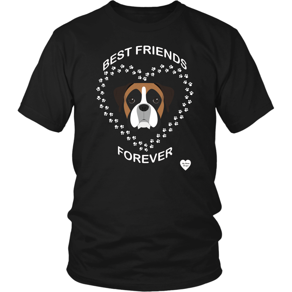 Boxer Best Friends Forever T-Shirt
