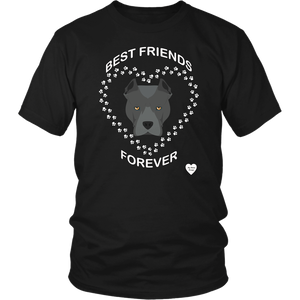 Pit Bull Best Friends Forever T-Shirt