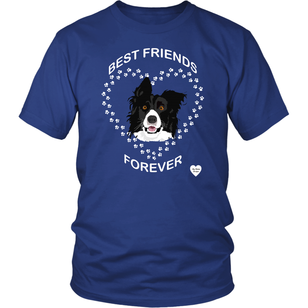 Border Collie Best Friends Forever T-Shirt
