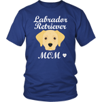 Labrador Retriever Royal Blue T-Shirt