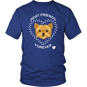 Yorkshire Terrier Best Friends Forever T-Shirt