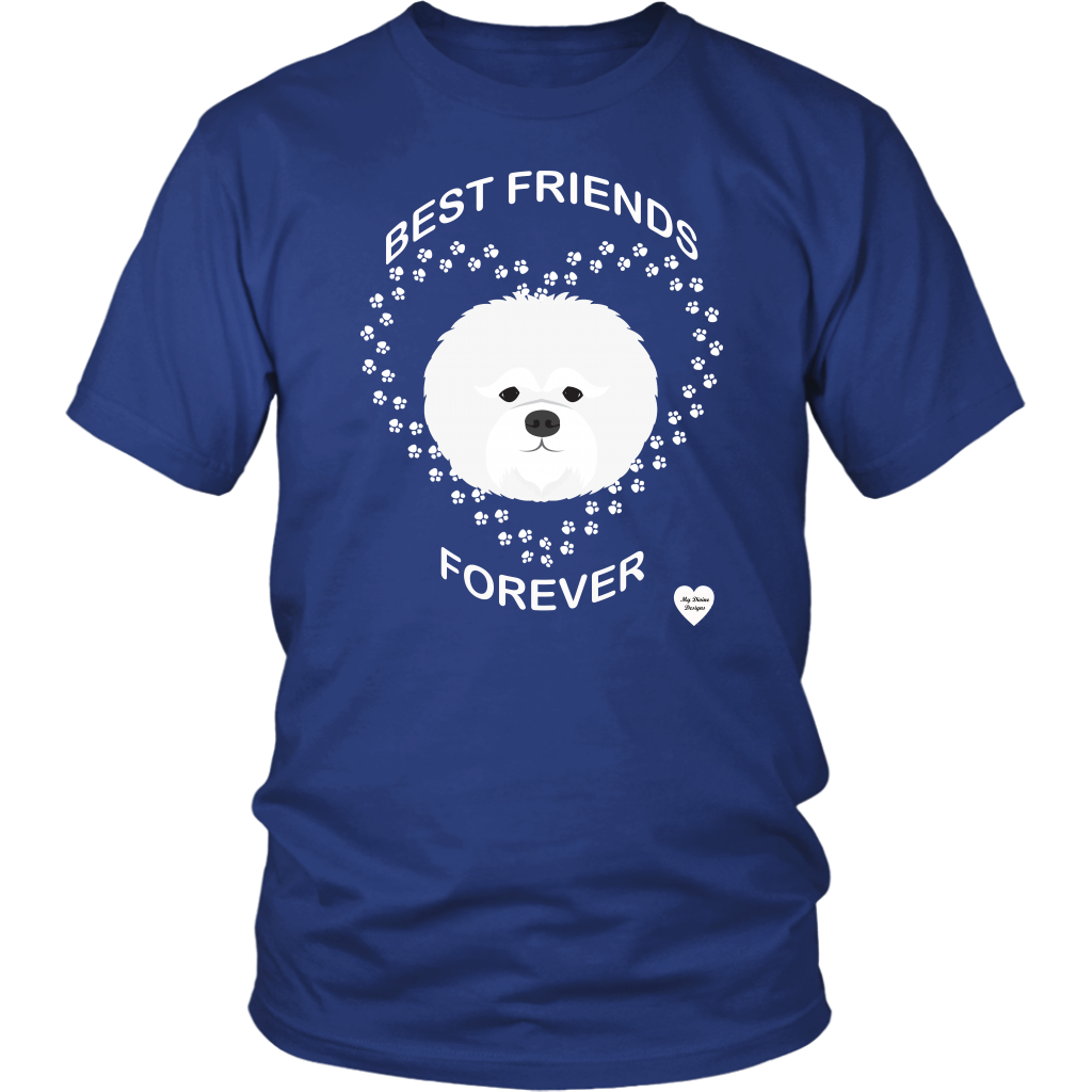 Bichon Frise Best Friends Forever T-Shirt