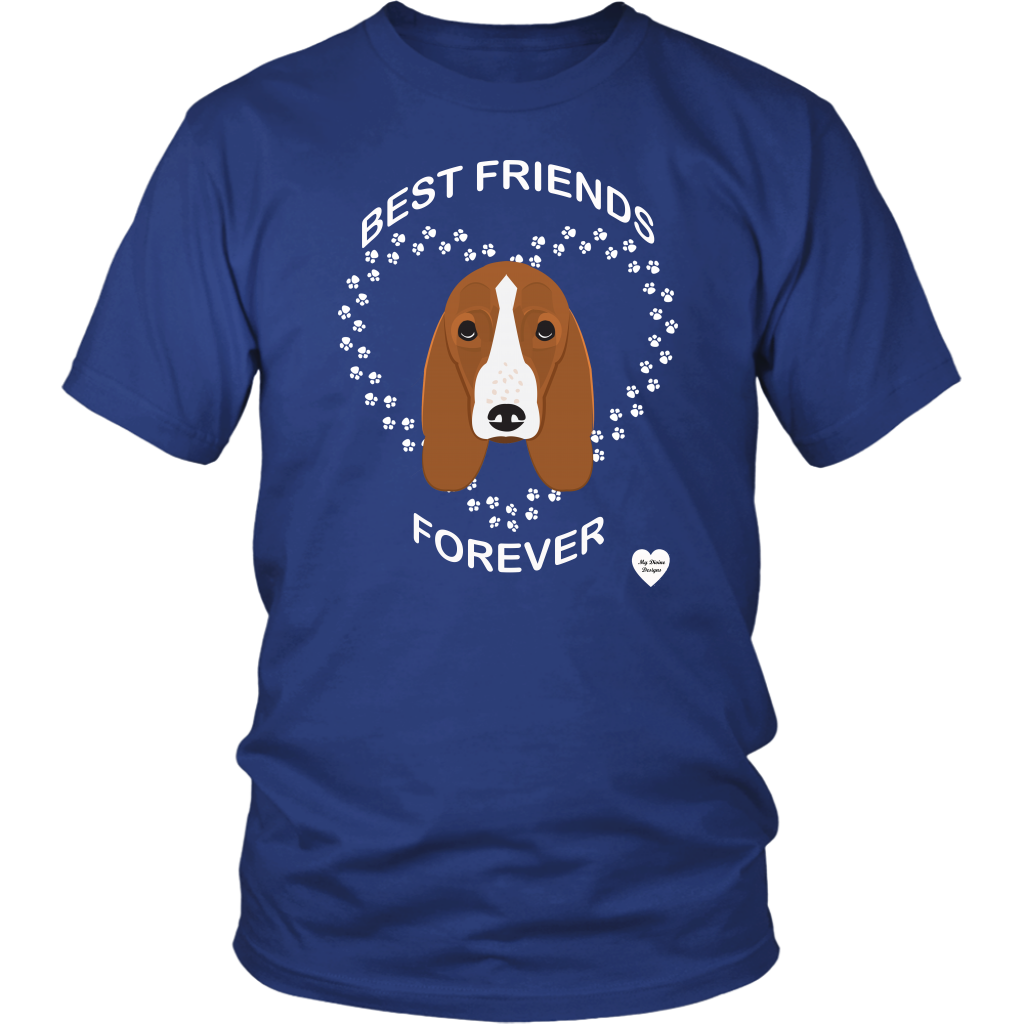 Basset Hound Best Friends Forever T-Shirt