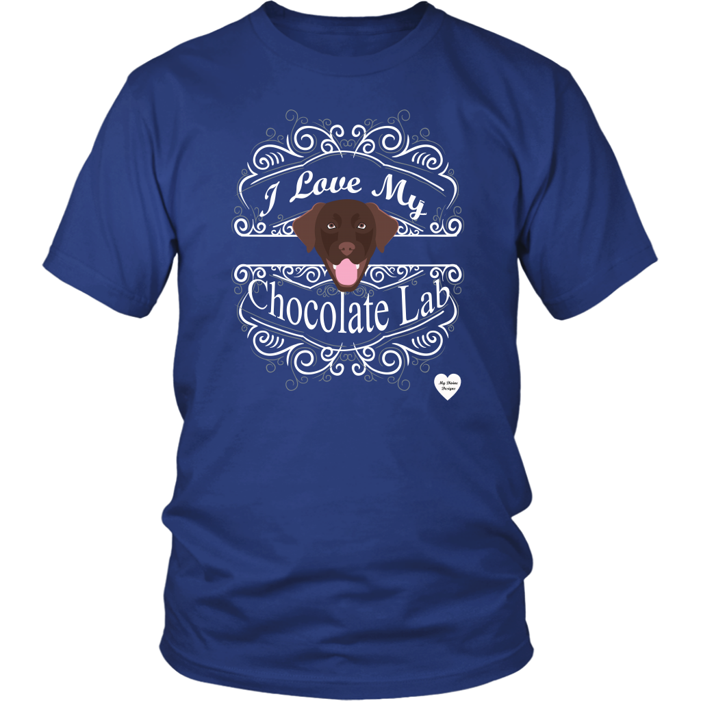 I Love My Chocolate Lab T-Shirt