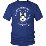 Siberian Husky Best Friends Forever T-Shirt