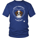 Saint Bernard Best Friends Forever T-Shirt