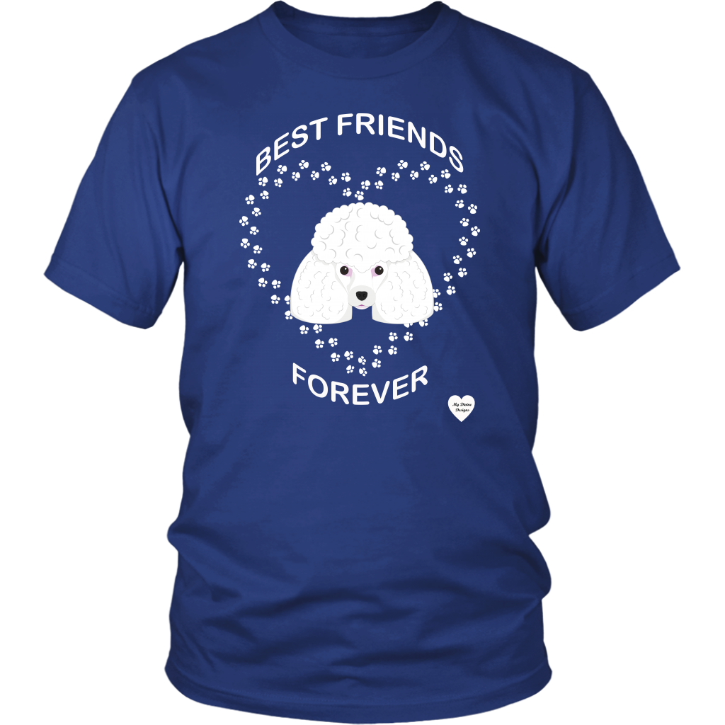Poodle Best Friends Forever T-Shirt
