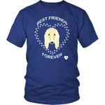 Afghan Hound Best Friends Forever T-Shirt Royal Blue