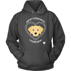 Labrador Retriever Best Friends Forever Hoodie