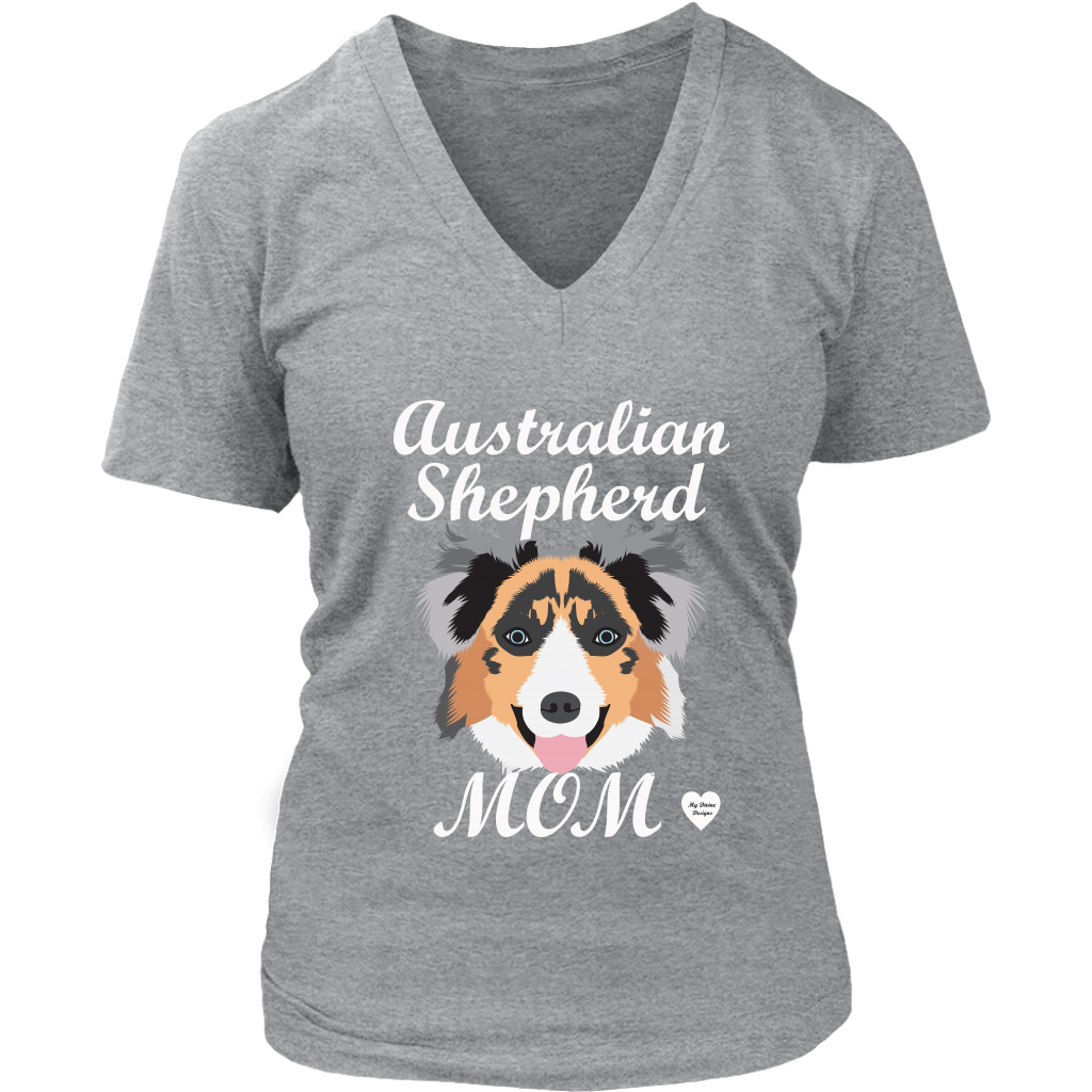 australian shepherd mom grey