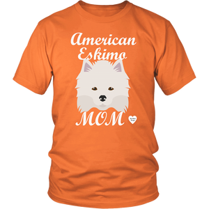 American Eskimo Mom T-Shirt