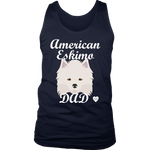 American Eskimo Dad Tank Top