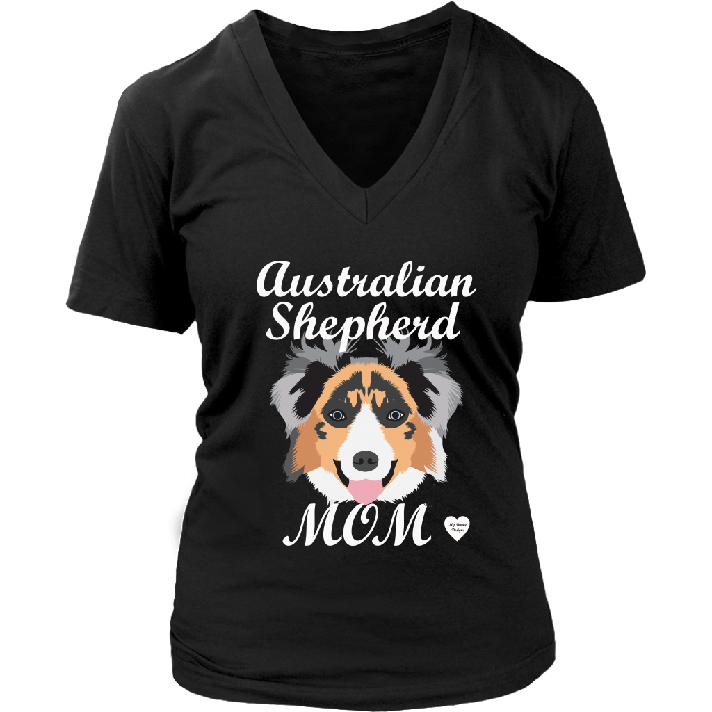 australian shepherd mom black