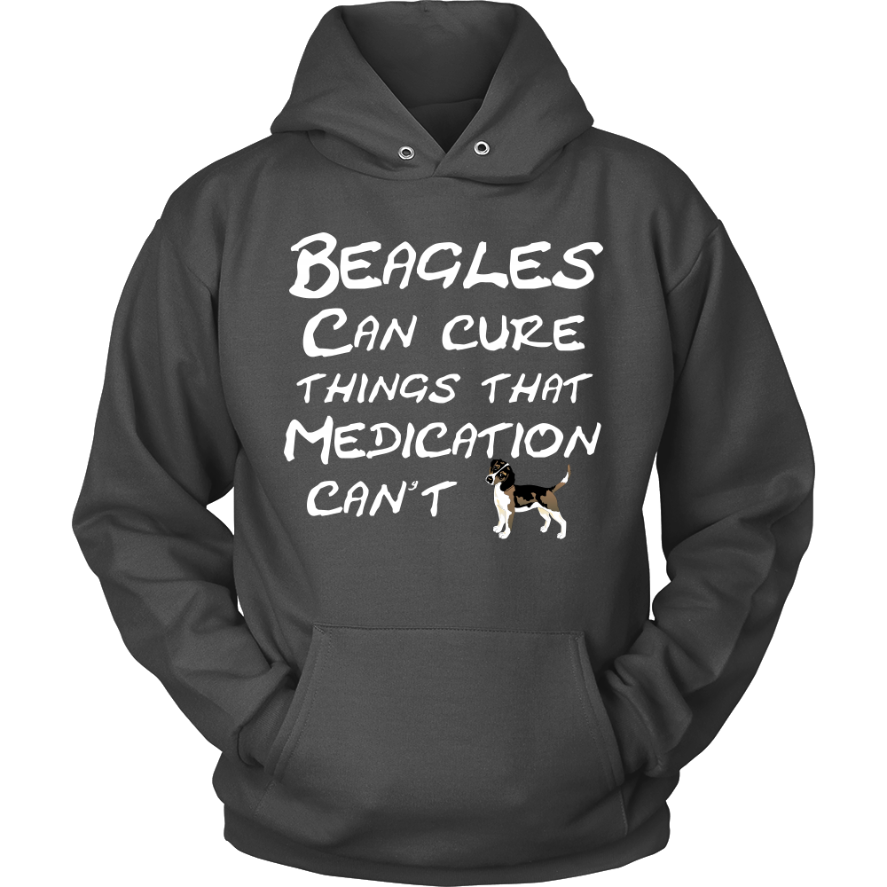 Beagles Can Cure Things Hoodie