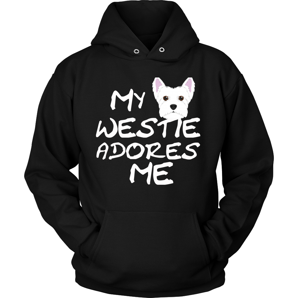 West Highland Terrier Adores Me Hoodie