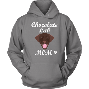 Chocolate Lab Mom Hoodie