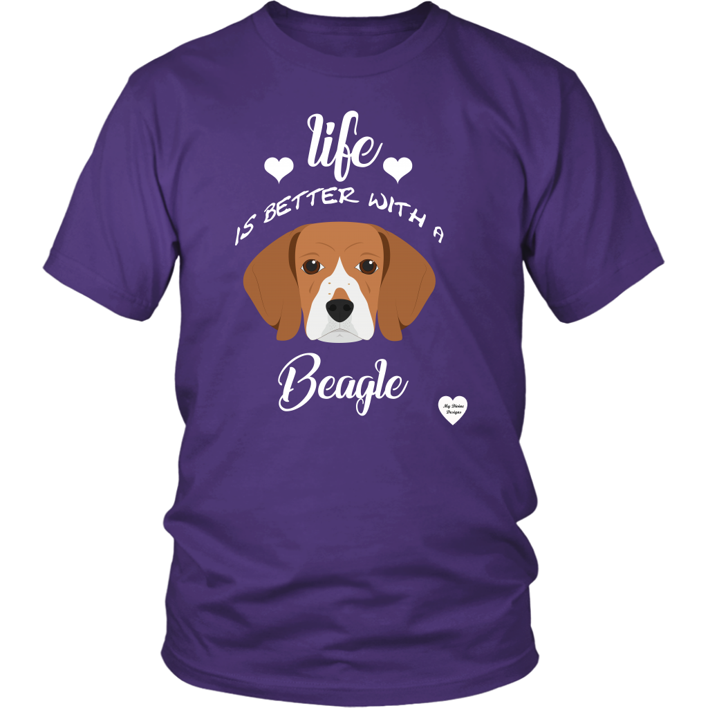 Life Is Better With A Beagle T-Shirt