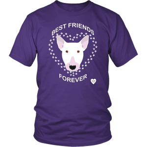 Bull Terrier Best Friends Forever T-Shirt