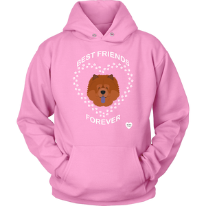 Chow Chow Best Friends Forever Hoodie