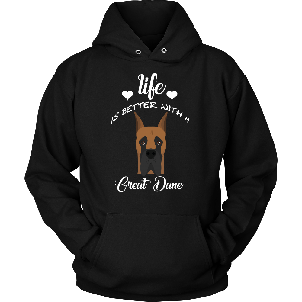 Life Is Better With A Great Dane