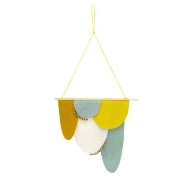 Muskhane Wool Felt Scales Hanging - more colours