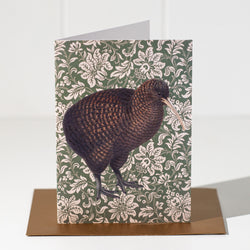 Kiwi Greeting Card