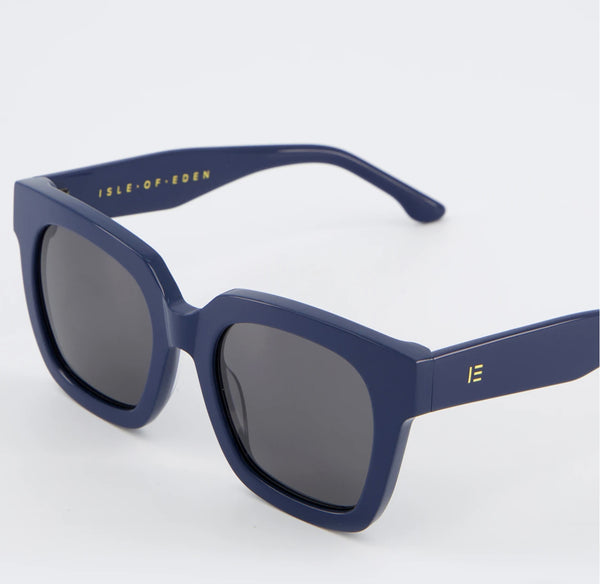 Isle of Eden Sunglasses - Maleika Navy Blue