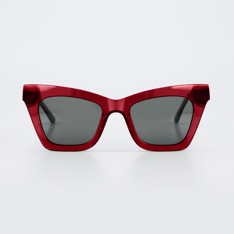 Isle of Eden Sunglasses - Sienna Red
