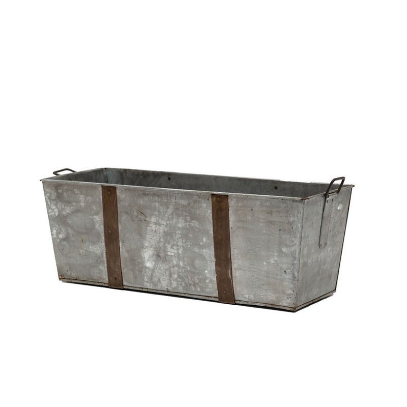 Rectangular Iron Planter Box