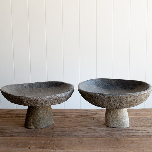 Stone Serving Stand