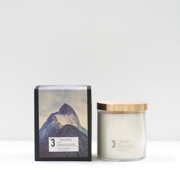 03 Balance Candle:  22oz Jar