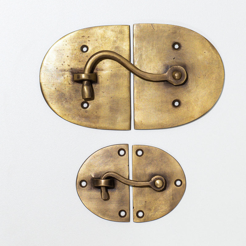 Brass Cabinet Latch - Large