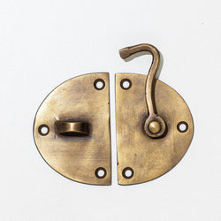 Brass Cabinet Latch - Medium