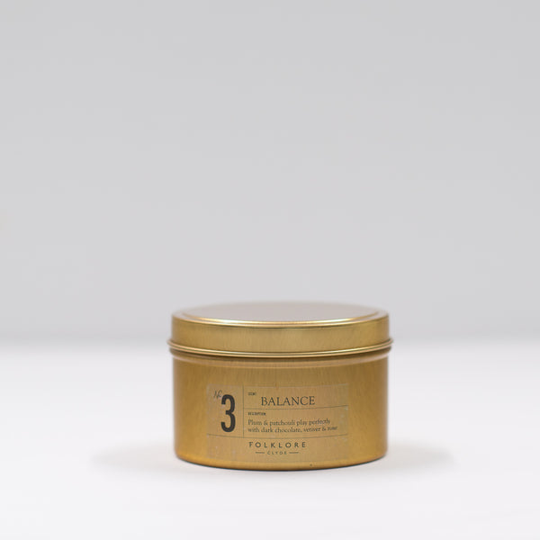 03 Balance Candle: 8oz Travel Tin