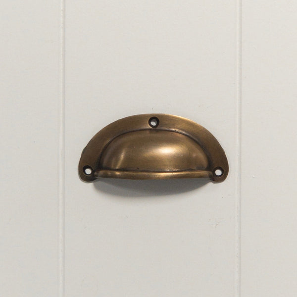 Brass Classic Drawer Pull