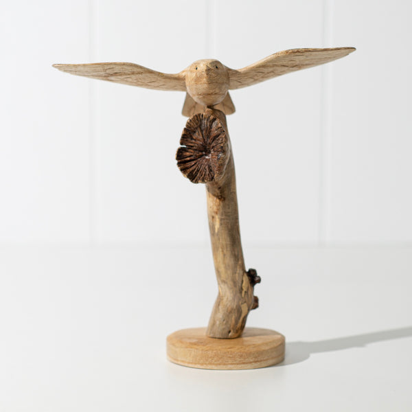 Hand Carved Flying Bird