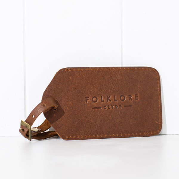 Folklore Luggage Tag