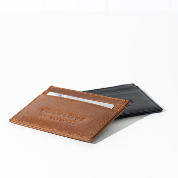 Folklore Leather Card Holder