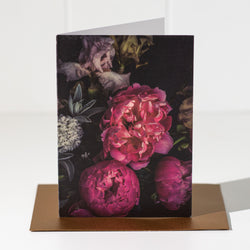 Peony II Floral Greeting Card