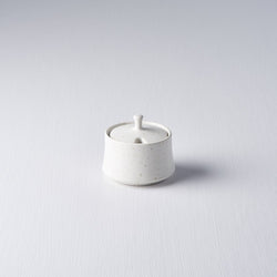 Sugar Pot - Matte White