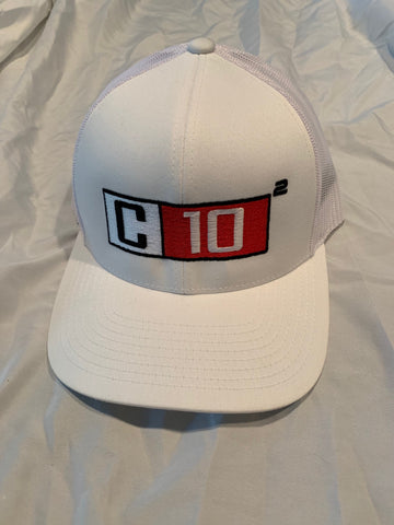 Snapback hat in White