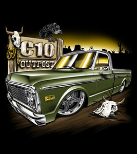 C10 Outpost 1972 C10 shirt